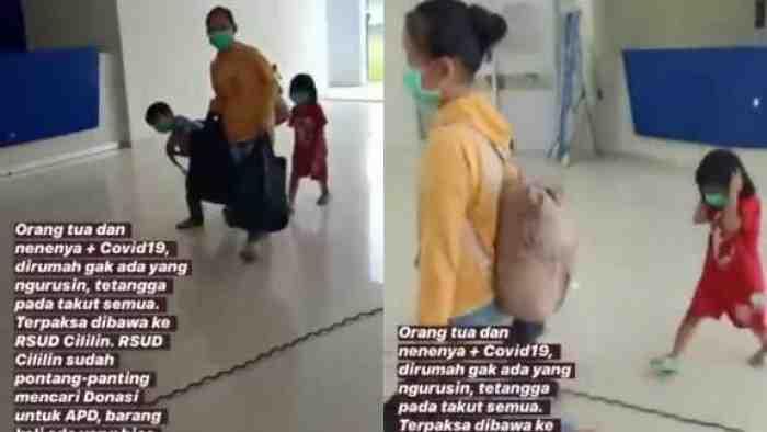 Orangtua Terpapar Corona, 3 Bocah Terlantar Keluarga dan Tetangga Takut Urus