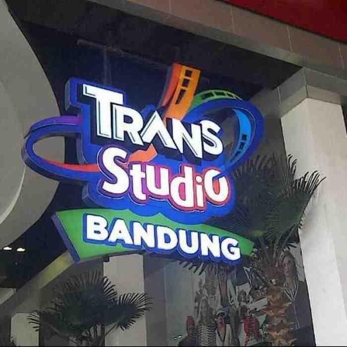 20 Wahana Seru di Trans Studio Bandung