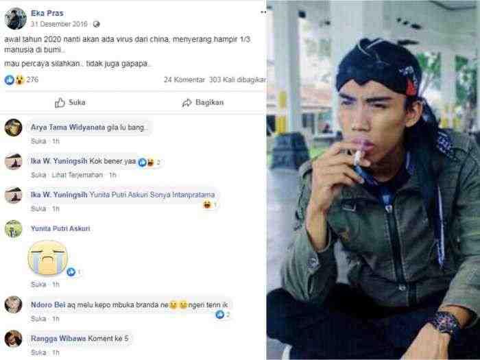 Viral, Santri Ramal Corona Sejak Tahun 2016, Fakta atau Hoax?