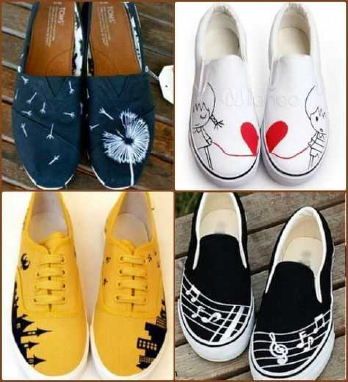 Analisa dan Peluang Usaha Sepatu Lukis yang Menjanjikan