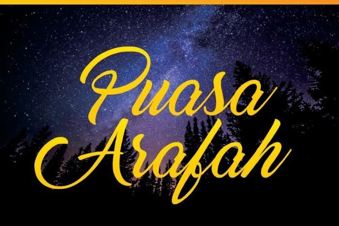 Bacaan Niat Puasa Arafah dan Tarwiyah