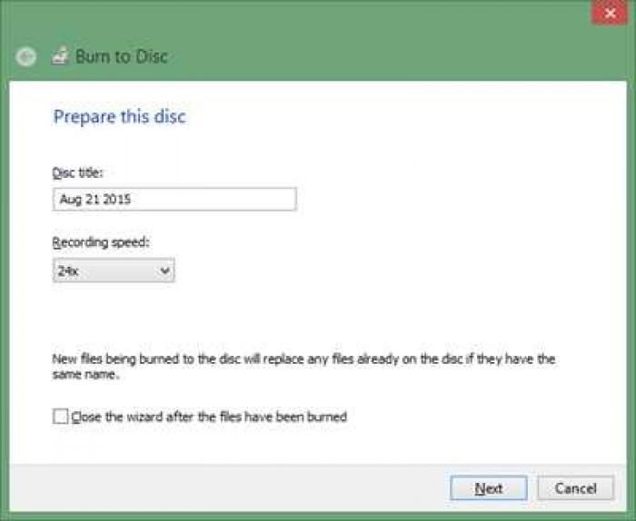 Cara Burning CD/DVD Tanpa Menggunakan Software