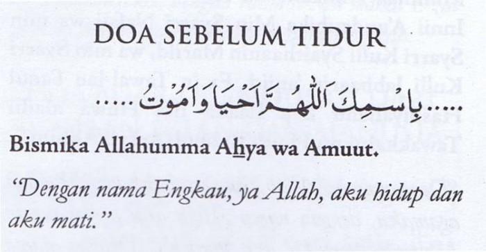 √Bacaan Doa Mau Tidur Malam Islam