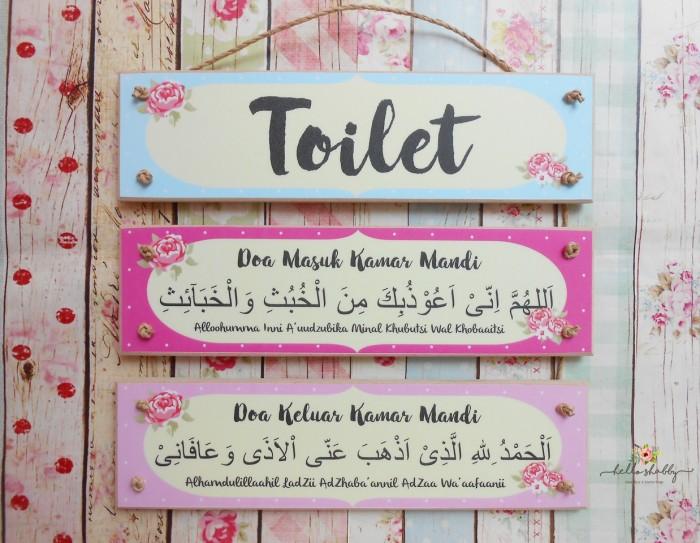 Doa Masuk WC dan Keluar WC Beserta Artinya