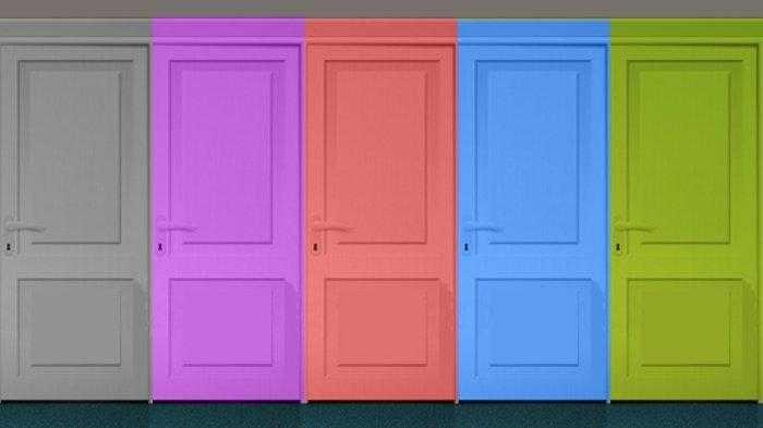 Tes Kepribadian Lewat Warna Pintu Apa yang Ingin Kamu Buka?