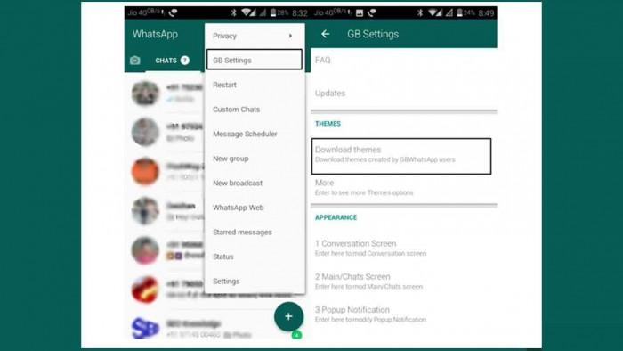 4 Cara Ganti Tema Whatsapp Tanpa Aplikasi Disegala Smartphone