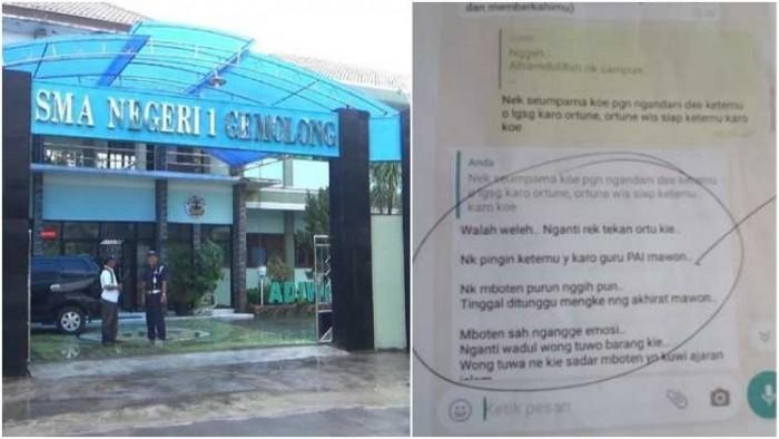 Fakta Hebohnya Intimidasi Siswi Tak Berjilbab dan Bendera HTI di SMK Sragen