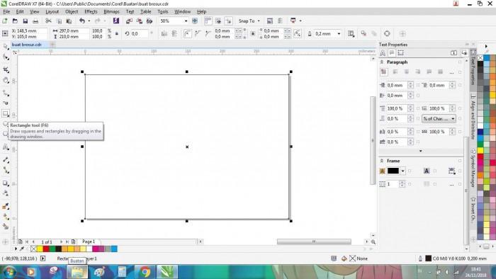 Cara Membuat Brosur Lengkap, Word, Photoshop, dan Coreldraw