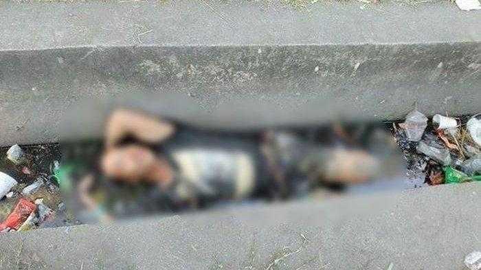 Pria ini Tergeletak di Selokan Dikira Korban Pembunuhan Ternyata ini yang Dilakukan