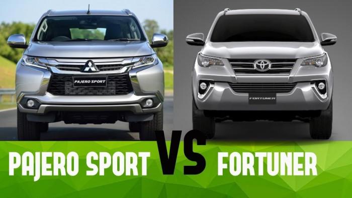 Perbandingan Toyota Fortuner VS Mitsubishi Pajero Sport