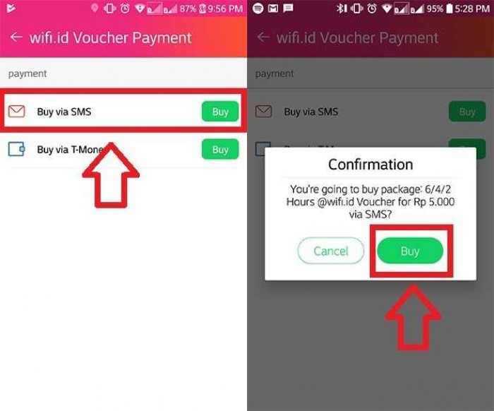Cara Daftar Wifi Id Mudah Via SMS dan USSD