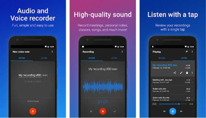 Aplikasi Perekam Suara Dengan Fitur yang Lengkap