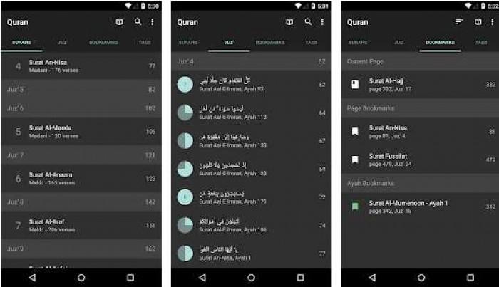 Mengaji Kapan Saja Dengan 11 Aplikasi Al-Quran Android Terbaik