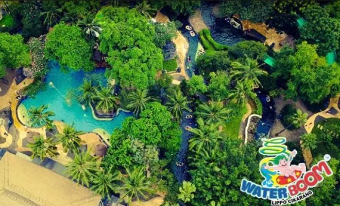 Waterboom Lippo Cikarang dan 4 Destinasi Wisata Keren di Cikarang
