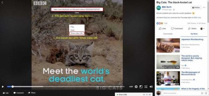 Cara Download Video Facebook Tanpa Aplikasi di Android dan PC