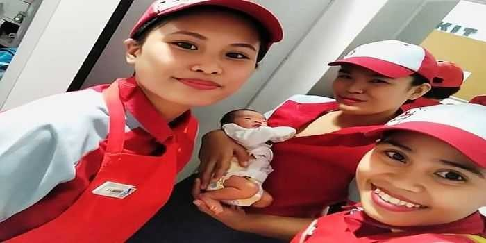 Ramai Bayi Baru Lahir Dibuang di Restoran Cepat Saji