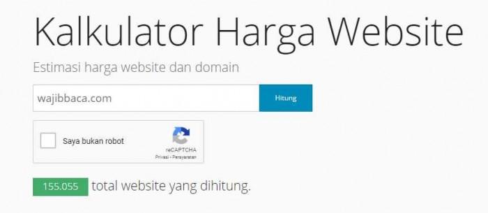 5 Situs Untuk Cek Harga Website dan Blog