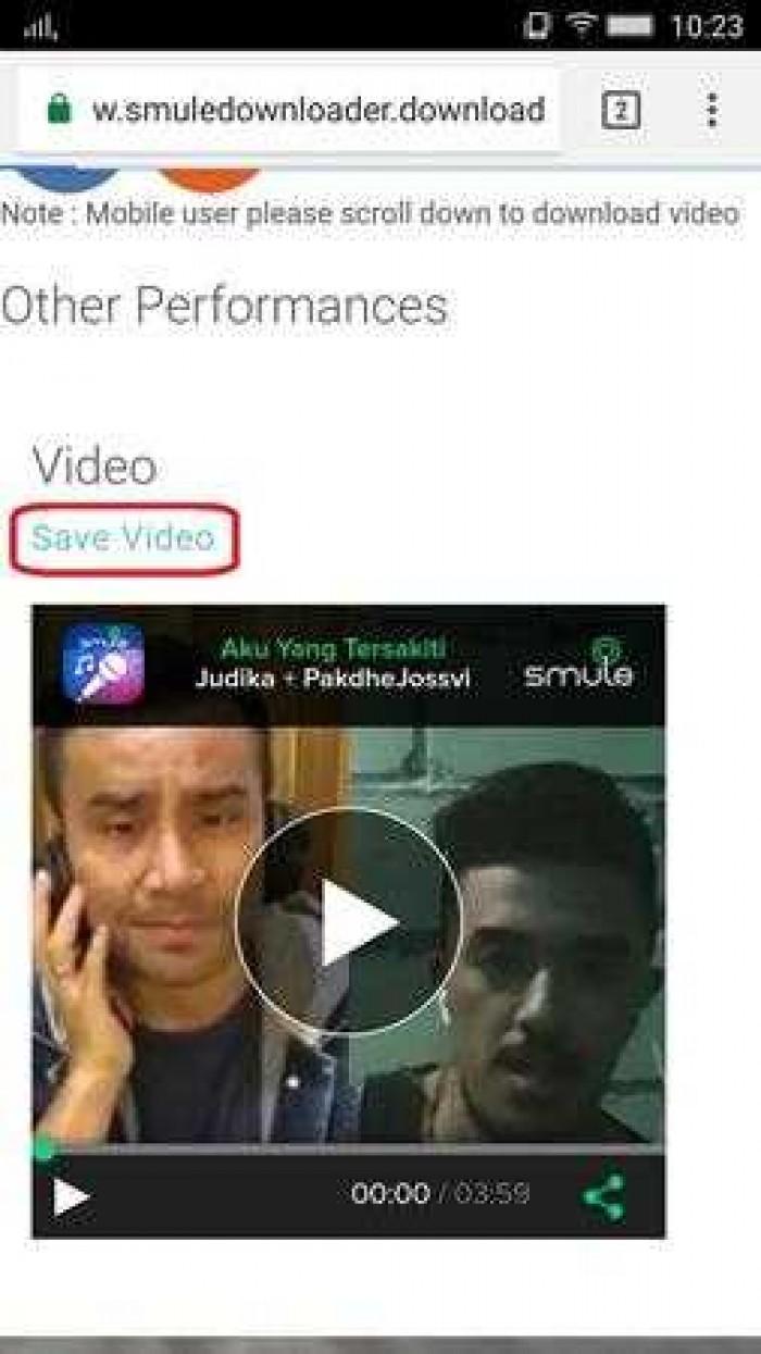 3 Cara Download Video Smule Tanpa APK
