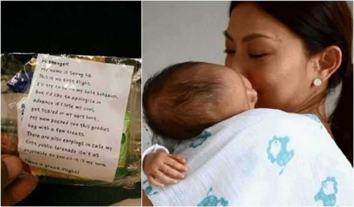 Cerita Bayi Sedang Menangis di Pesawat, Ibunya Lakukan Hal ini yang Bikin Kagum