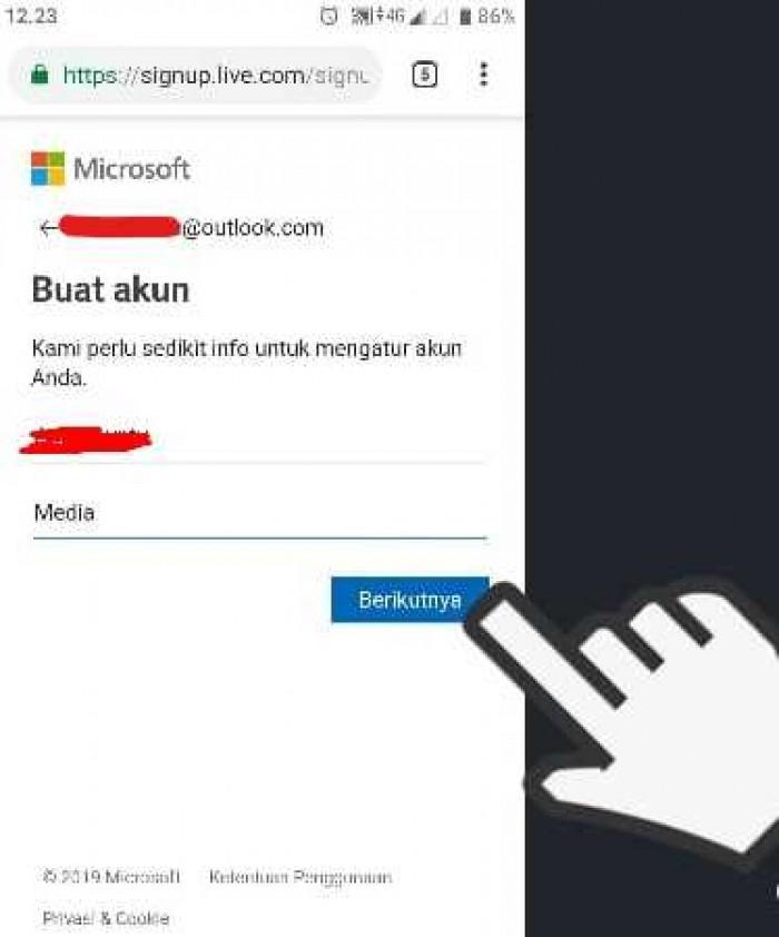 Cara Mudah Buat Akun Microsoft Gratis di Laptop dan HP