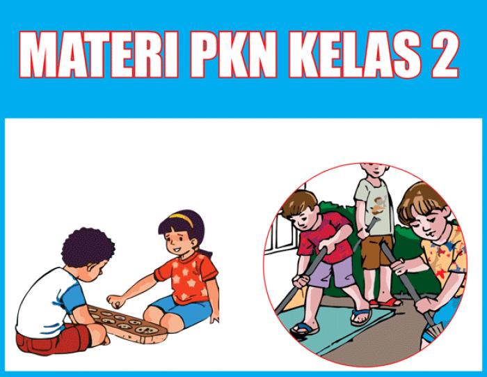 Soal PKN Kelas 2 SD Semester 1 dan Semester 2