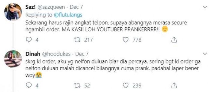Tren Prank Ojol di YouTube Ternyata Berdampak Sampai Se-Miris ini