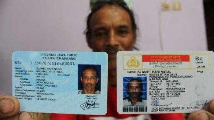 Pria ini Punya Nama Tak Lazim, Hingga Petugas Kelurahan Sulit Urus KTP
