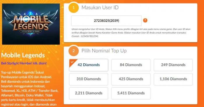 3 Cara Beli Diamond Mobile Legend Mudah Dengan Pulsa