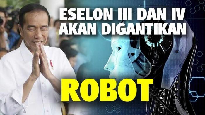 Pemerintah Mengganti Pejabat Eselon Dengan AI