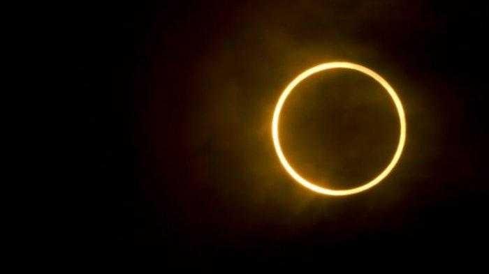 Fenomena Langka, Besok Akan Terjadi Gerhana Matahari Cincin