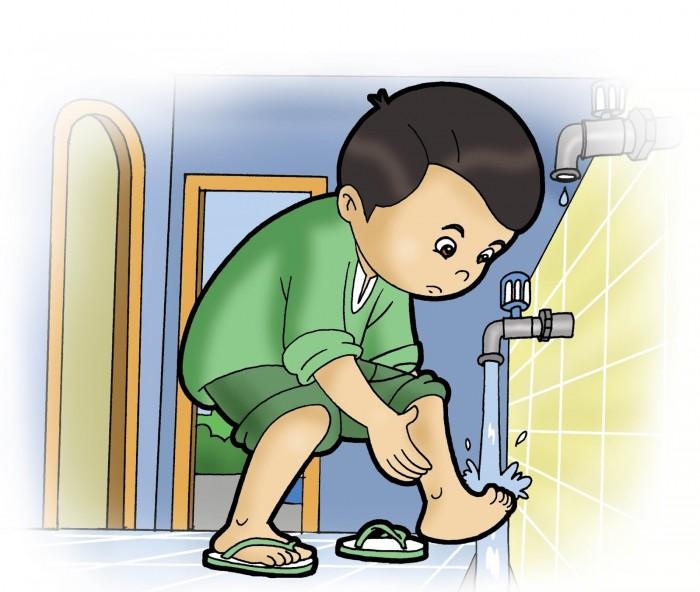 Doa Setelah Mengambil Air Wudhu