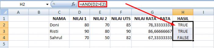 21 Rumus Dasar Excel Beserta Contohnya