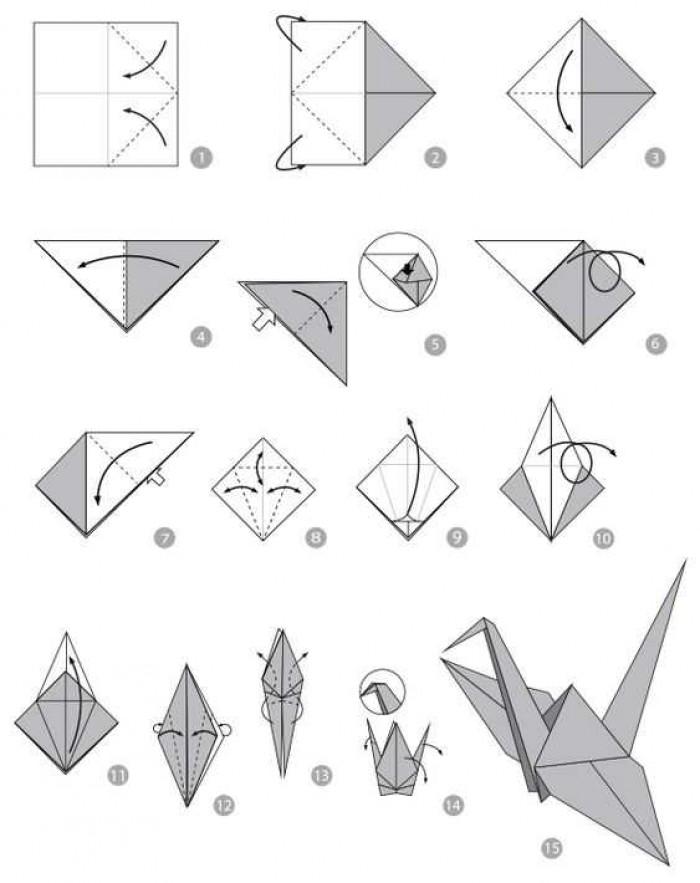 Anti Ribet, Begini Cara Membuat Origami Burung Sederhana