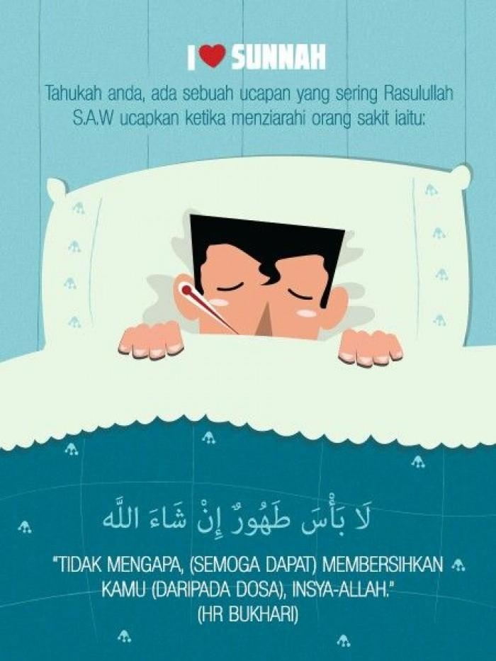 Doa Ketika Sakit Sesuai Sunnah