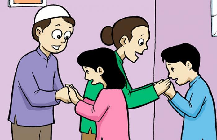 Mengajari Anak Sopan Santun Pada Orang Tua dan Guru