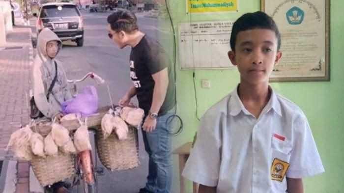 MasyaAllah, 2 Bocah Ini Keliling Jualan Untuk Biayai Sekolah