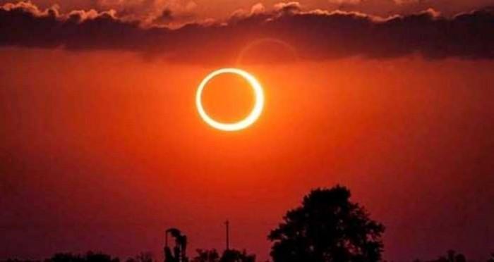 Tahap-tahap Terjadinya Gerhana Matahari Cincin Hari ini