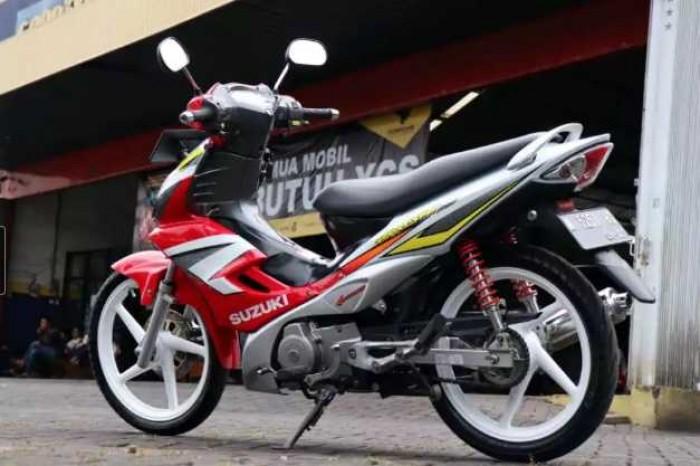 Suzuki Arashi Motor Lawas yang Pernah Jadi Primadona