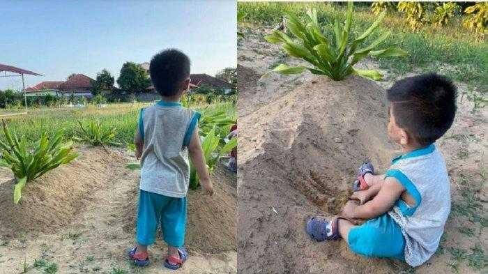 Kisah Haru Seorang Bocah Ditinggal Kedua Orangtuanya Meninggal Karena Kecalakaan