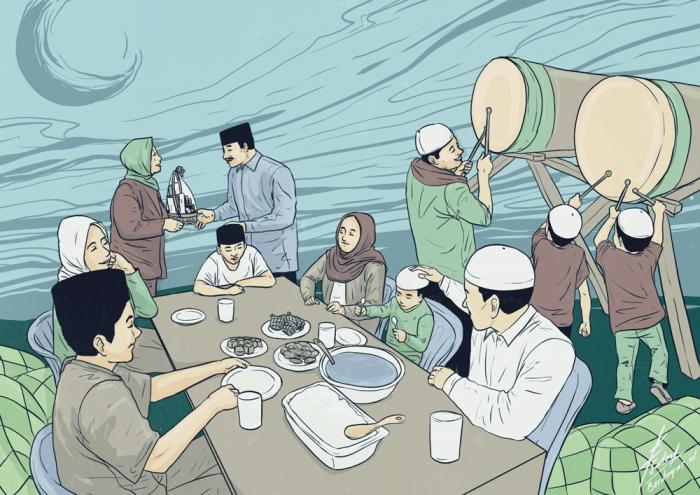 Ucapan Lebaran Bahasa Jawa