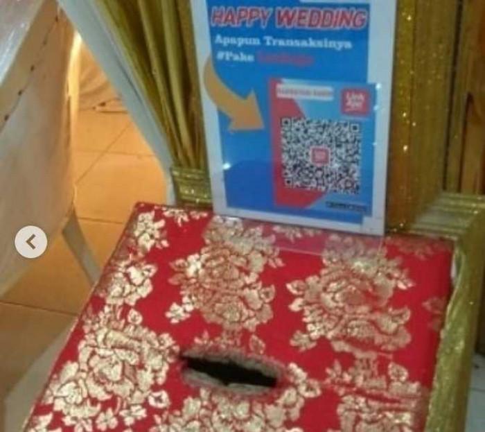 Pernikahan ini Sediakan Transaksi Non Tunai Gantikan 'Amplop'