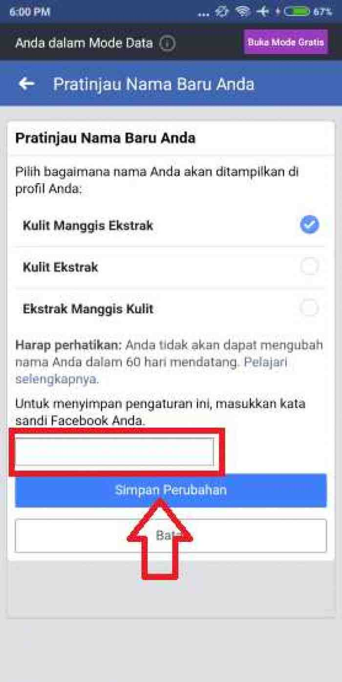 Cara Mengganti Nama Facebook dari Hp dan Laptop, 100% Work!