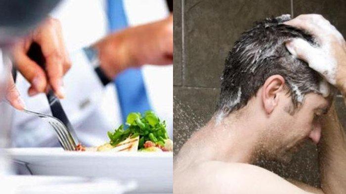 Awas, Mandi Setelah Makan Ternyata Berbahaya Untuk Tubuh