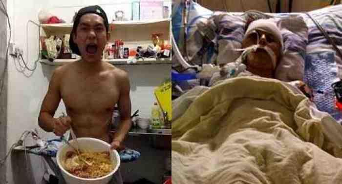 Ngeri, Setiap Malam Makan Mie Instan Pemuda ini Tewas Terserang Kanker