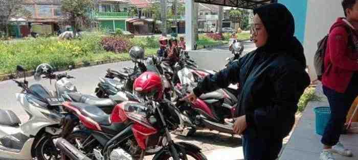 Nekat, Pasangan Kekasih ini Bekerjasama Curi Motor di Malang