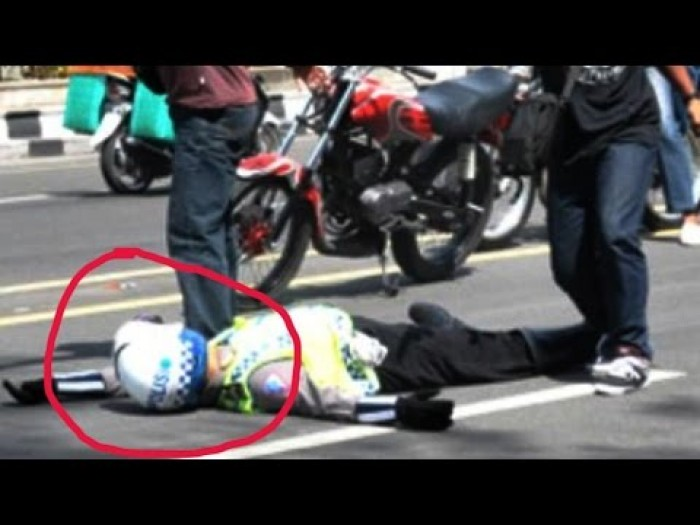 Malang, Polisi ini Tewas Setelah Ditabrak Pengendara yang Hendak Ditilang