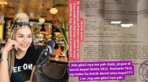 Ngomel, Tagihan Listrik Nikita Mirzani Membengkak 26 Juta