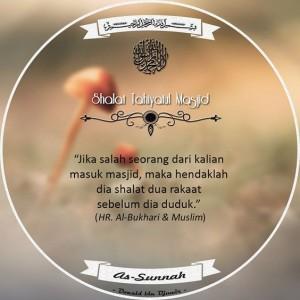 Niat Dan Doa Shalat Tahiyatul Masjid Lengkap
