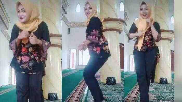 Viral, Tak Beradab Ibu-Ibu Joget Ala Tiktok di Dalam Masjid