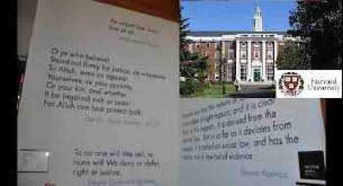 Telah Dibuktikan Universitas Harvard, Al-Qur`an Kitab Terbaik Penegak Keadilan